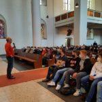 Besuch der Stufe 10 in der Christuskirche
